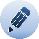 edit pencil change modify alter blue edit icon